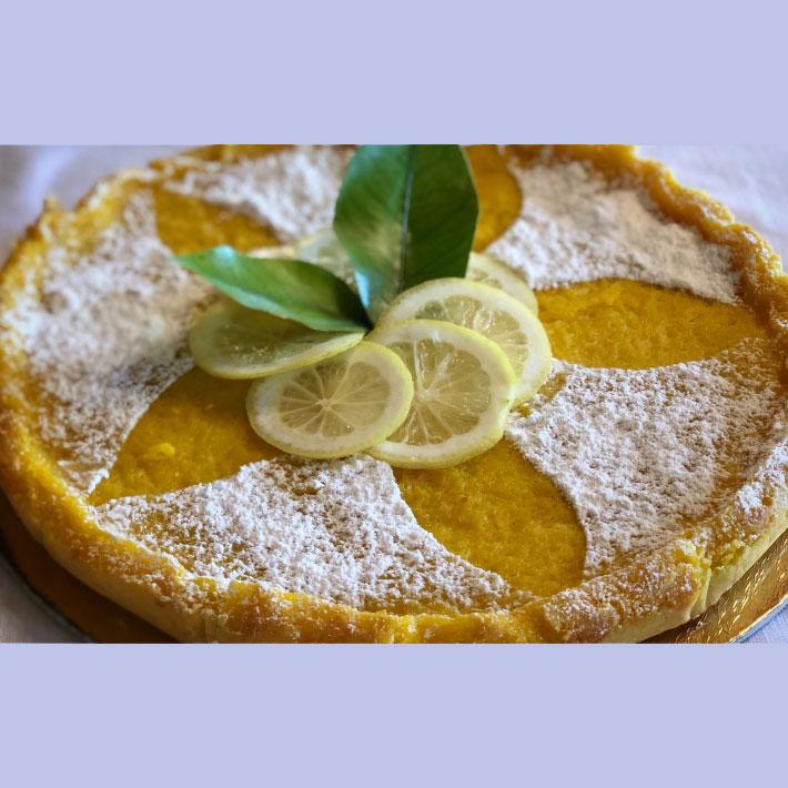 Crostata al limone di Siracusa Igp